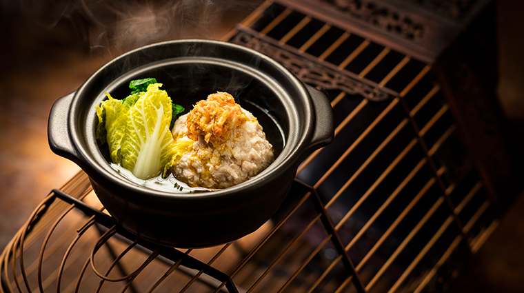 shanghai magic boiled minced pork dumplings with hairy crab and roe