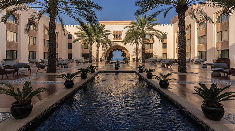 shangri la al husn resort spa arch