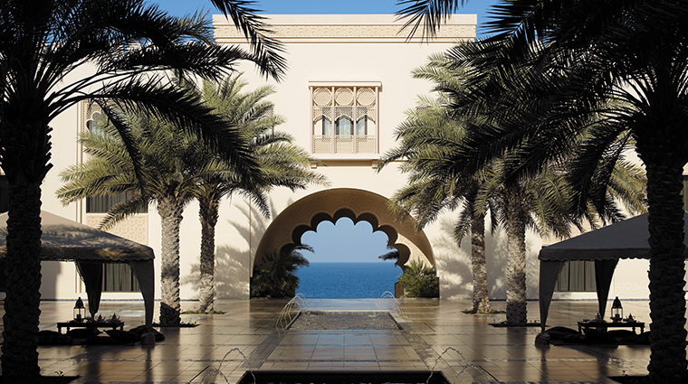 shangri la al husn resort spa courtyard
