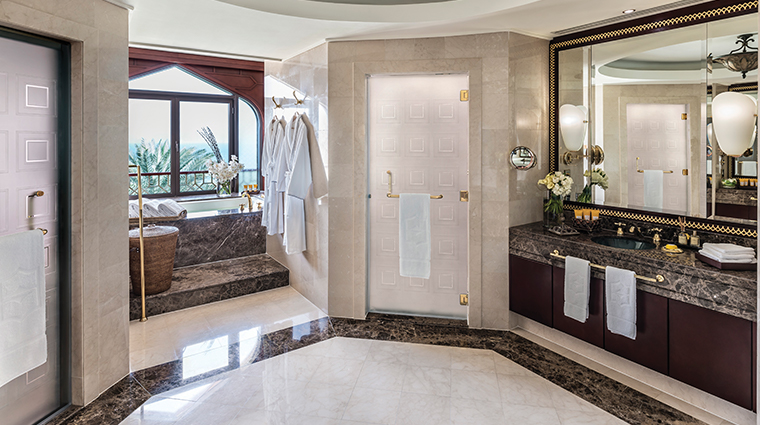 shangri la al husn resort spa jabreen suite bathroom