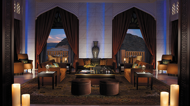 shangri la al husn resort spa lobby lounge