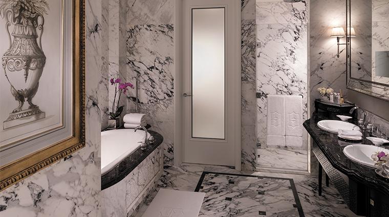 shangri la bosphorus istanbul bathroom suite
