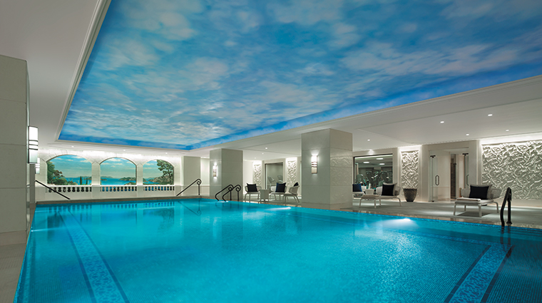 shangri la bosphorus istanbul pool