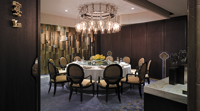 shangri la bosphorus istanbul private dining room