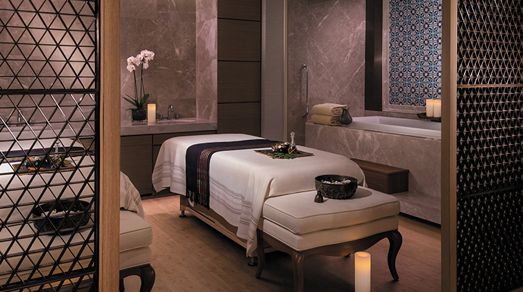 shangri la bosphorus istanbul spa treatment room