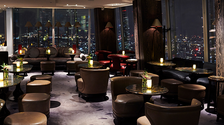 shangri la hotel at the shard london Gong bar
