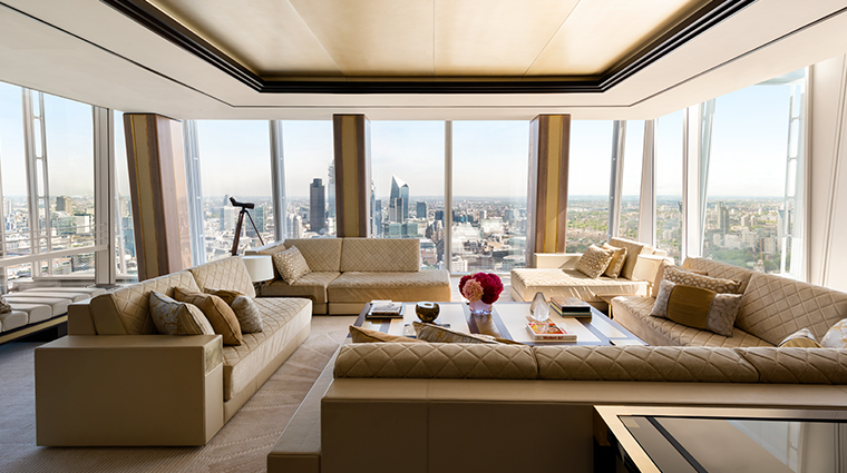 shangri la hotel at the shard london suite