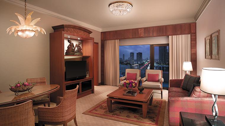 shangri la hotel bangkok living room