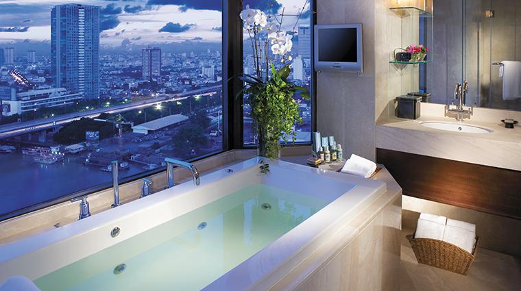 shangri la hotel bangkok suite bathroom