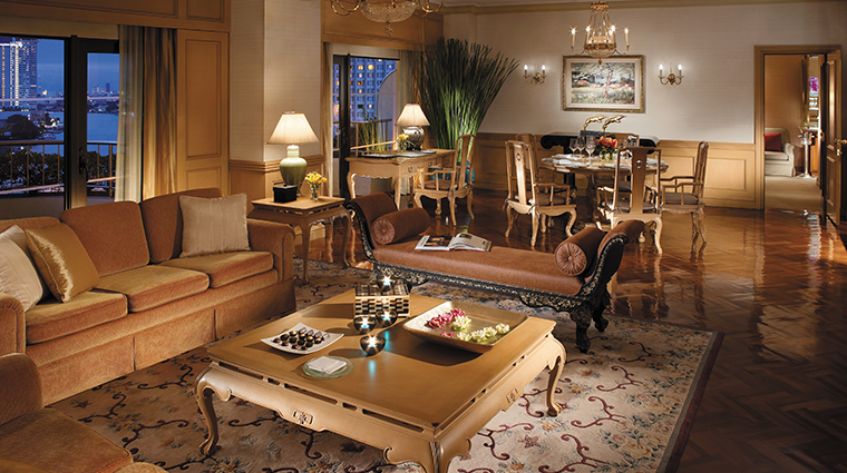 shangri la hotel bangkok suite living room