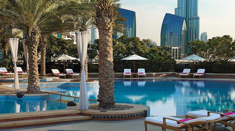 shangri la hotel dubai pool
