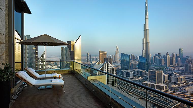 shangri la hotel dubai view 42 floor