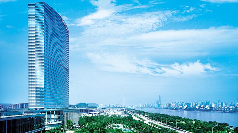 shangri la hotel guangzhou exterior day