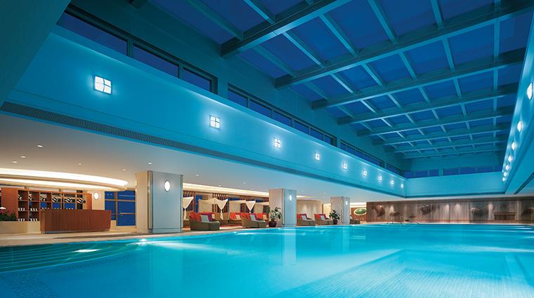 shangri la hotel guangzhou indoor pool