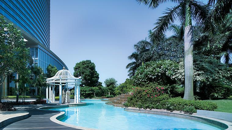 shangri la hotel guangzhou outdoor pool