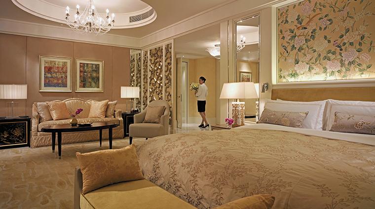shangri la hotel guangzhou suite bedroom