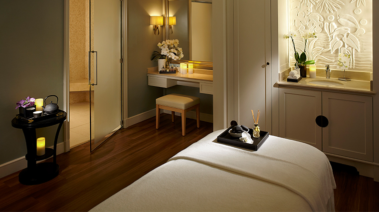 shangri la hotel paris treatment room