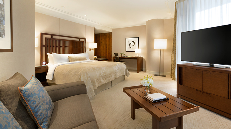 shangri la hotel vancouver  executive king balcony