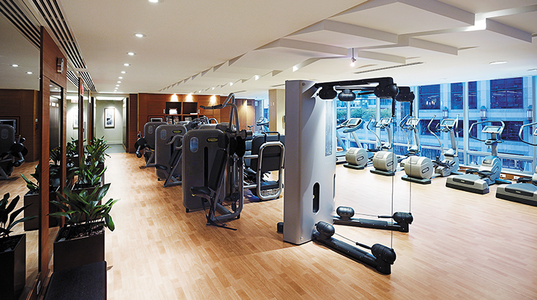 shangri la hotel vancouver fitness center