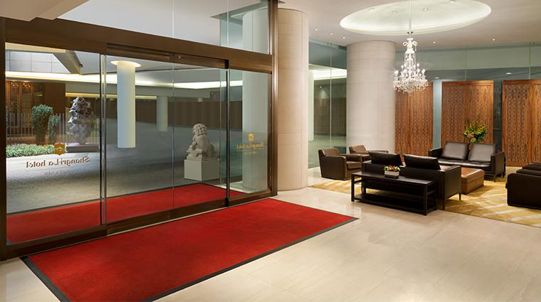 shangri la hotel vancouver lower lobby