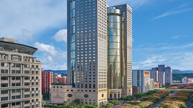 shangri las far eastern plaza hotel taipei exterior