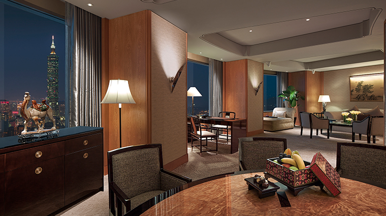 shangri las far eastern plaza hotel taipei specialty suite
