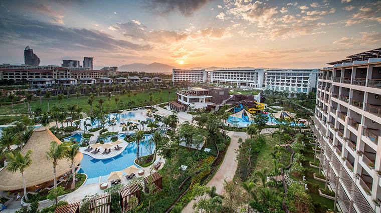 shangri las sanya resort spa hainan exterior