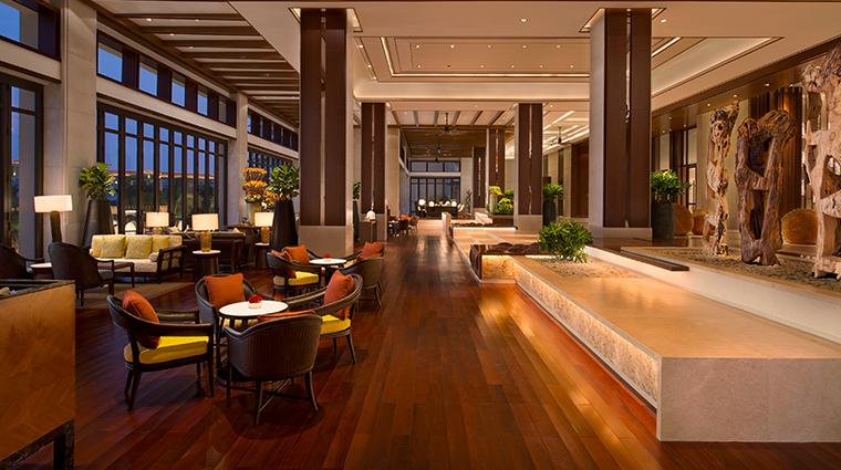 shangri las sanya resort spa hainan lobby lounge