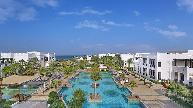 sharq village spa pool view