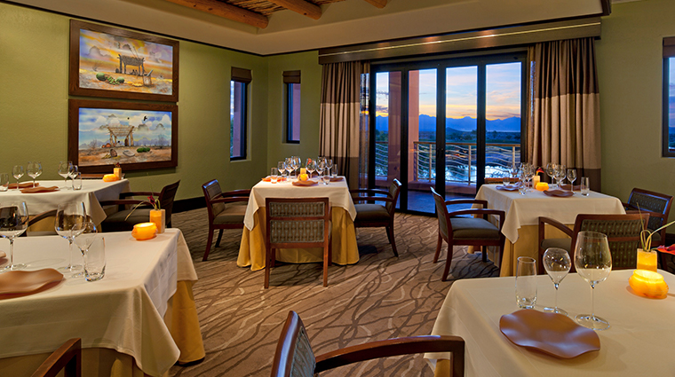 sheraton grand at wild horse pass Kai dining
