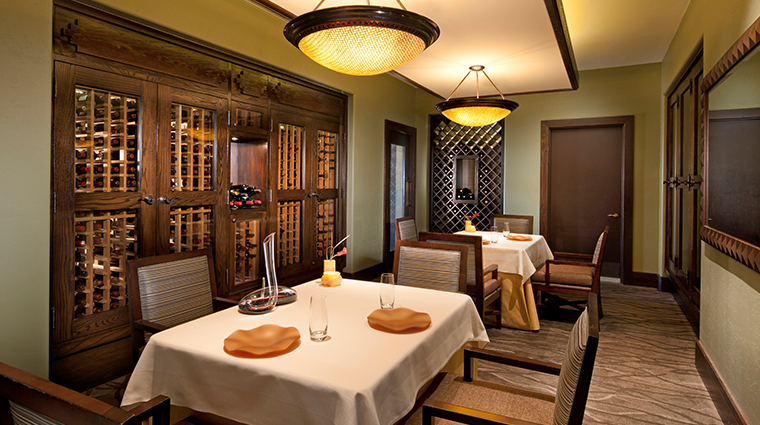 sheraton grand at wild horse pass Kai wine room