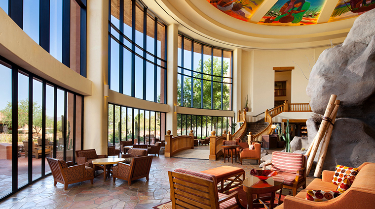 sheraton grand at wild horse pass lower lobby