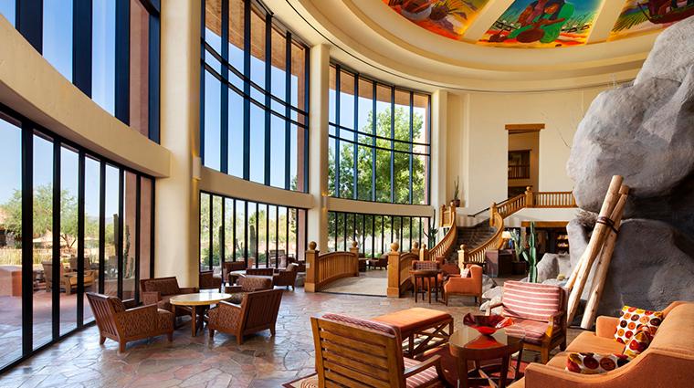 sheraton grand at wild horse pass lower lobby