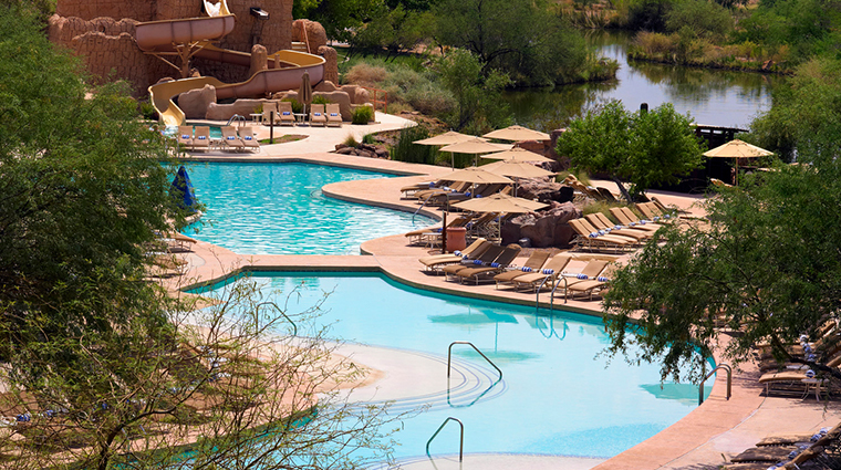 sheraton grand at wild horse pass riverside swimming pool