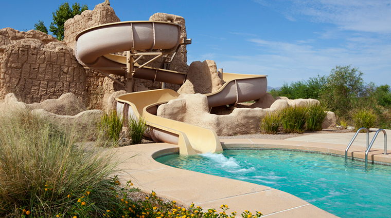 sheraton grand at wild horse pass water slide