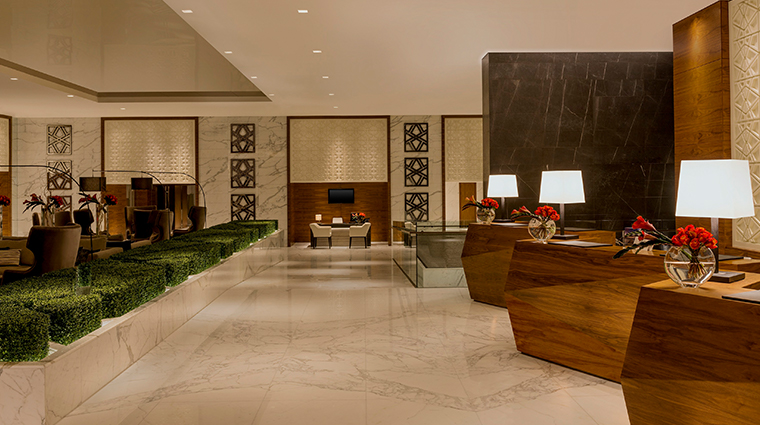 sheraton grand hotel dubai lobby reception