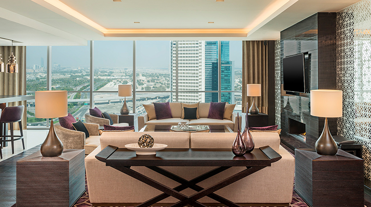 sheraton grand hotel dubai presidential suite living room