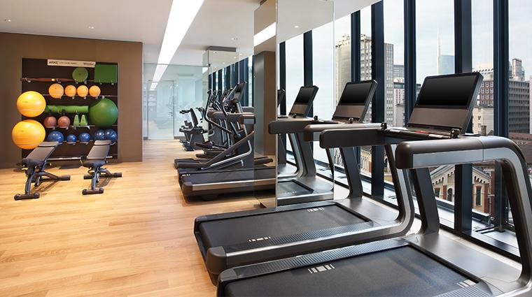 shiseido spa milan fitness center