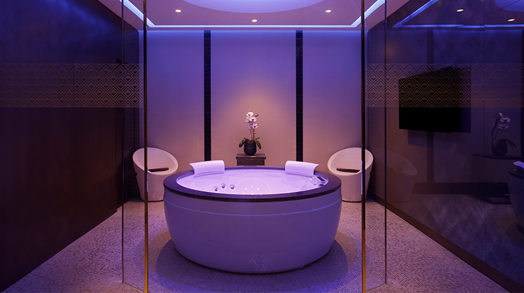 shiseido spa milan private suite jacuzzi