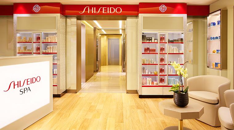 shiseido spa milan reception