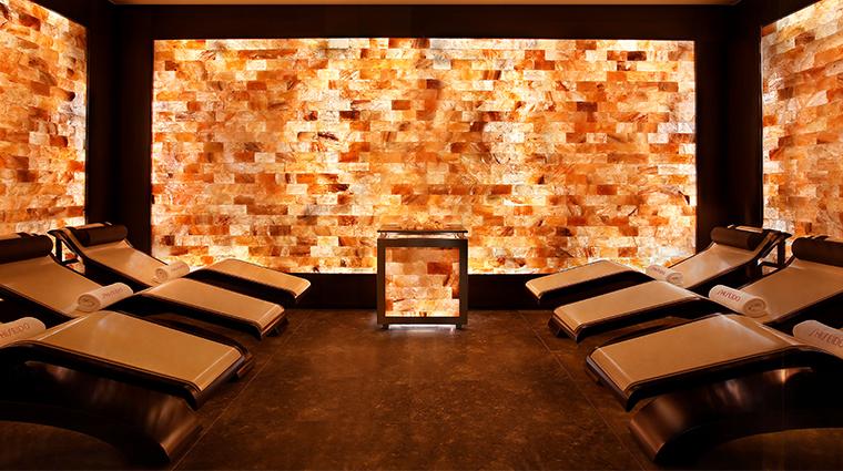 shiseido spa milan salt cabin