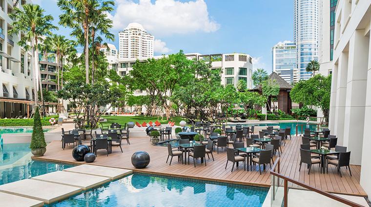 siam kempinski hotel bangkok brasserie terrace