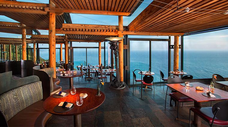 sierra mar restaurant dining room