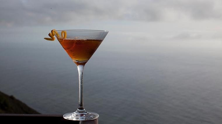 sierra mar restaurant drink