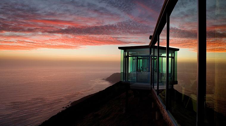 sierra mar restaurant exterior