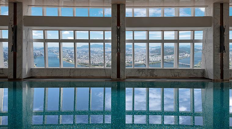 signiel seoul swimming pool