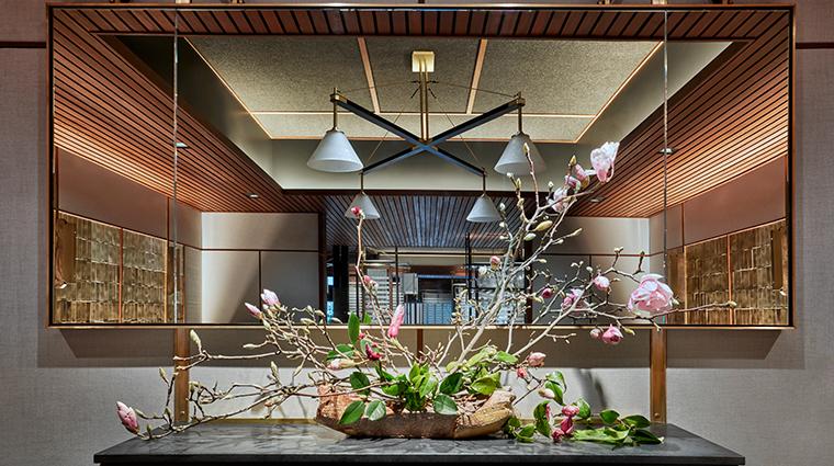 single thread farms restaurant interior detail