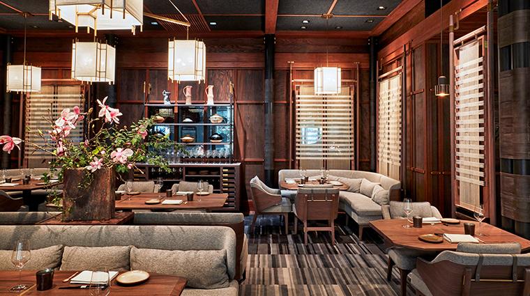 single thread farms restaurant interior dining