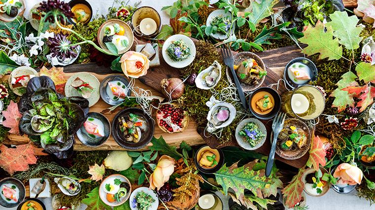 singlethread farms restaurant early autumn