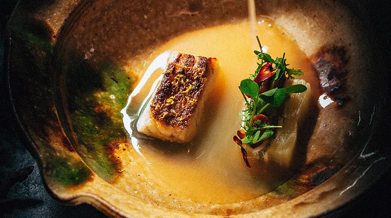 singlethread farms restaurant raosted black cod